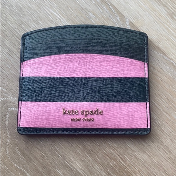 kate spade Accessories - Kate Spade sylvia stripe card holder